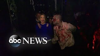 Robin Roberts Takes 'GMA' on Scary Haunted House Trip