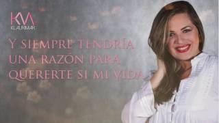 KLAURIMAR MÁRQUEZ- LA FLOR DE TU JARDÍN (VIDEO LYRIC)