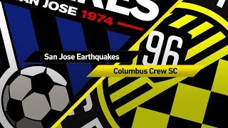 Highlights: San Jose Earthquakes vs. Columbus Crew | August 5, 2017