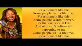 Amber Holcomb - A Moment Like This with Lyrics Top 10 American Idol Season 12
