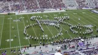 """TCU Horned Frog Marching Band - """"Bicycle Race"""" by Queen"""