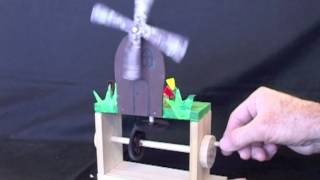 Year 8 Wooden Mechanical Toys
