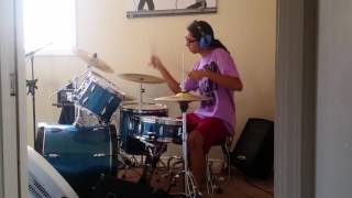 Playing drums (However you want it said by Beartooth)