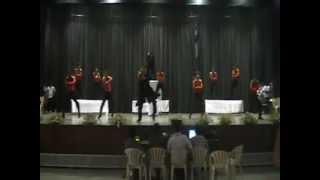 """Suresh Babu's Cosmic Dance Studio""@Krishna College don"