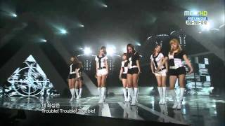 【HD Live】少女時代SNSD - 훗 (Hoot) (101204)