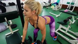 IOANA SULEA - Back Workout