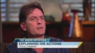 Exclusive: Charlie Sheen Says He's 'Not Bipolar but 'Bi-Winning' (02.28.11)