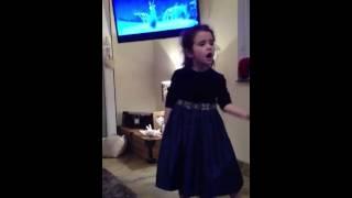 "Disney frozen ""let it go"" by Eva"