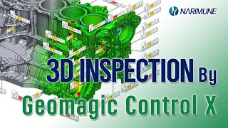 3D INSPECTION by Geomagic Control X