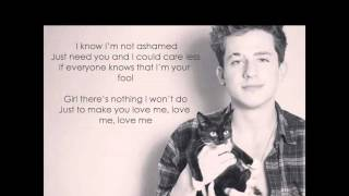My Gospel Lyrics - Charlie Puth