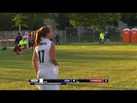 Video Thumbnail: 2013 WFDF World U-23 Championships, Women's Pool Play: USA vs. Canada