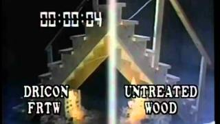 Demo: Fire Retardant Treated Wood