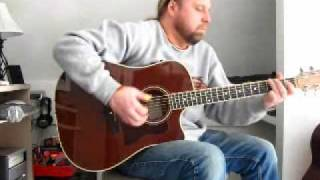 Ted Nugent Together Chord/Melody Cover