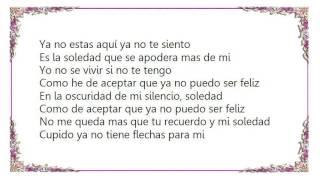 Cristian Castro - Cupido Lyrics