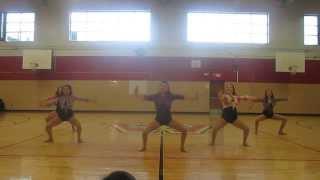 "Senior dance ""Timber"""