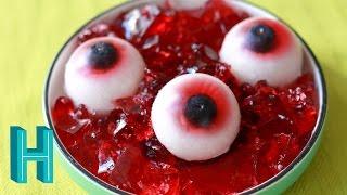 Gummy Eyeballs - Halloween DIY 🎃 Hilah Cooking
