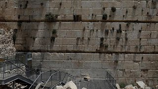 Stone falls from Western Wall in Jerusalem onto prayer area