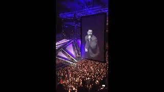 THE WEEKND - NOTHING WITHOUT YOU || Live Sweden Stockholm