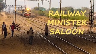 Two Trains Under Kahna Flyover in Lahore | Minister Saloon With Sheikh Rasheed | Pakistan Railways
