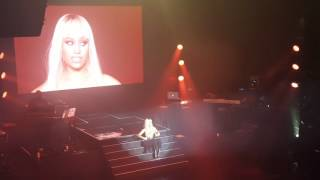 Nicki Minaj performs Throw Sum Mo At Adult Swim concert NYC