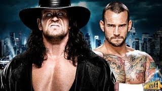 "CM Punk vs Undertaker WM 29 Theme Song ""Bones"" - Young Guns"