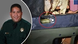 One-in-a-billion-shot: Colorado deputy fires a bullet into suspect's gun barrel- TomoNews