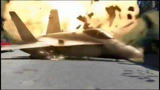 plane crash green screen effect