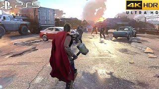 Marvel's Avengers (PS5) 4K 60FPS HDR Gameplay - (PS5 Version)
