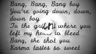Bang Bang Bang Christina Perri Lyrics