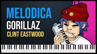 """How to play: """"Clint Eastwood"""" - Gorillaz [ MELODICA ][ TUTORIAL ]"""