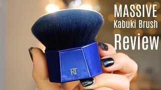 Real Techniques PowderBleu Kabuki Brush Review | Bailey B.