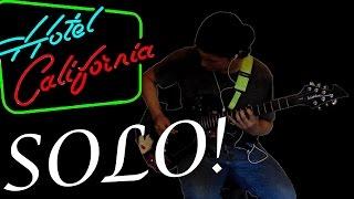 Hotel California [Solo] - Eagles (Billy Cover) 720p HD