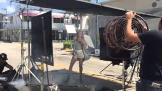 Maria Jose - Grabacion de nuevo video