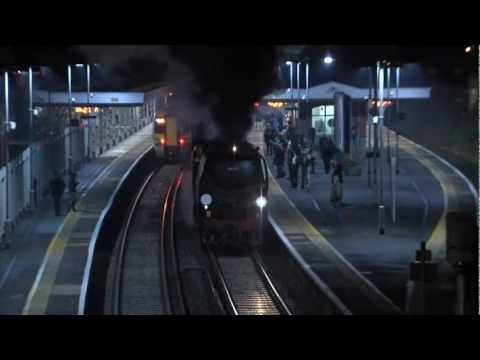 Union of South Africa, Tornado, Clan Line and Tangmere – All on 8th December 2012