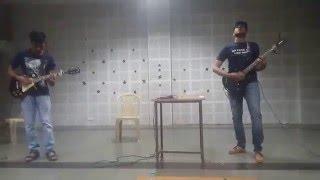 Teri Meri Kahaani rock cover (unplugged) practice session- Arrhythmia