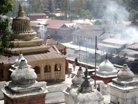 Cremations at Pashupati Temple