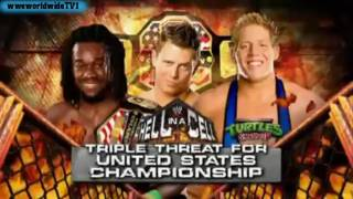 WWE Hell in a Cell Match Card