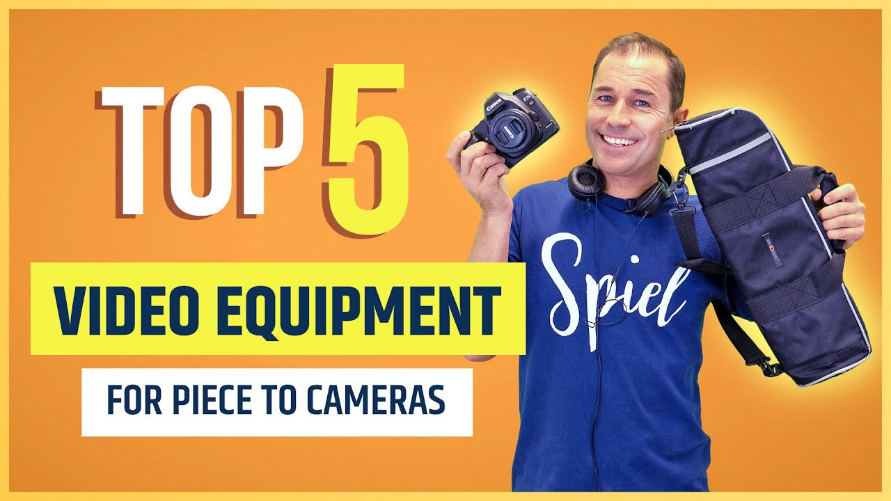 Top 5 Video Equipment Essentials For Creating Piece To Cameras (Presenter Videos!)