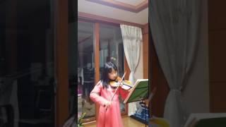 2017.4.2  보케리니의 미뉴에트 연습