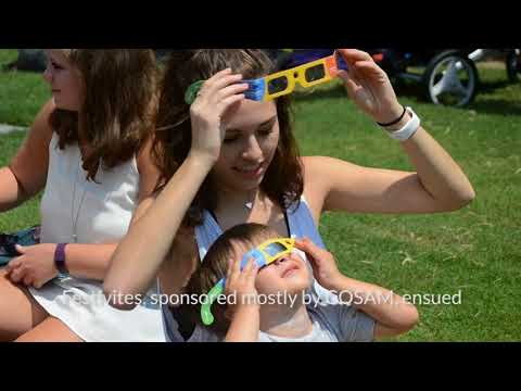 Auburn experiences near-total solar eclipse. Liv Taylor / Videographer