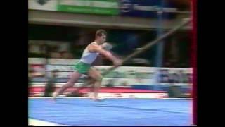 Ivan IVANOV (BUL) floor - 1996 Puerto Rico worlds EF