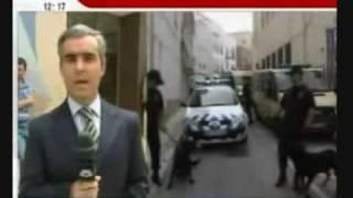 Jornalista cagado em directo SIC Noticias