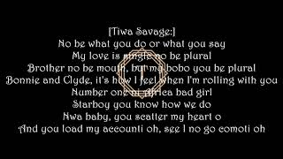 Tiwa Savage Ft Wiz Kid- Ma lo Lyrics Video