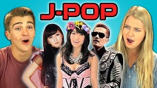 Teens React to J-pop