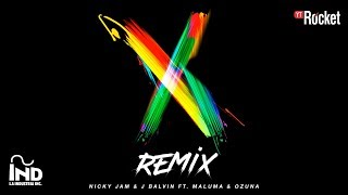 Nicky Jam & J Balvin - X (Remix) (feat. Ozuna and Maluma)