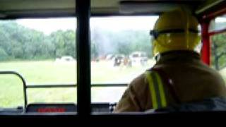 Driving a Fire Engine - With Blues & Two's Blaring!