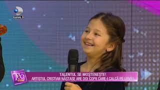 Teo Show (19.12.2018) - Cristian Nastase are doi copii care-i calca pe urme! Talentul se mosteneste!