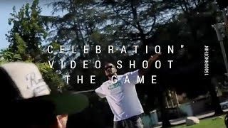 """1500 OR NOTHIN AT THE GAME'S VIDEO SHOOT """"CELEBRATION"""" (BEHIND THE SCENES)"""