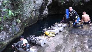 Cave Diving in Grand Cenote, Mexico with Steve Martin