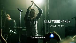 Owl City - Clap Your Hands (Full Song) [from PS4 Everybody's Golf] with Lyrics